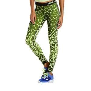 Nike Pro Engineer Giraffe in neon green